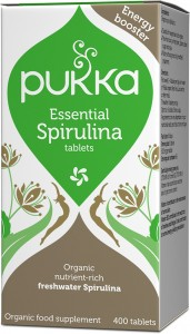 Essential Spirulina 400 tablets