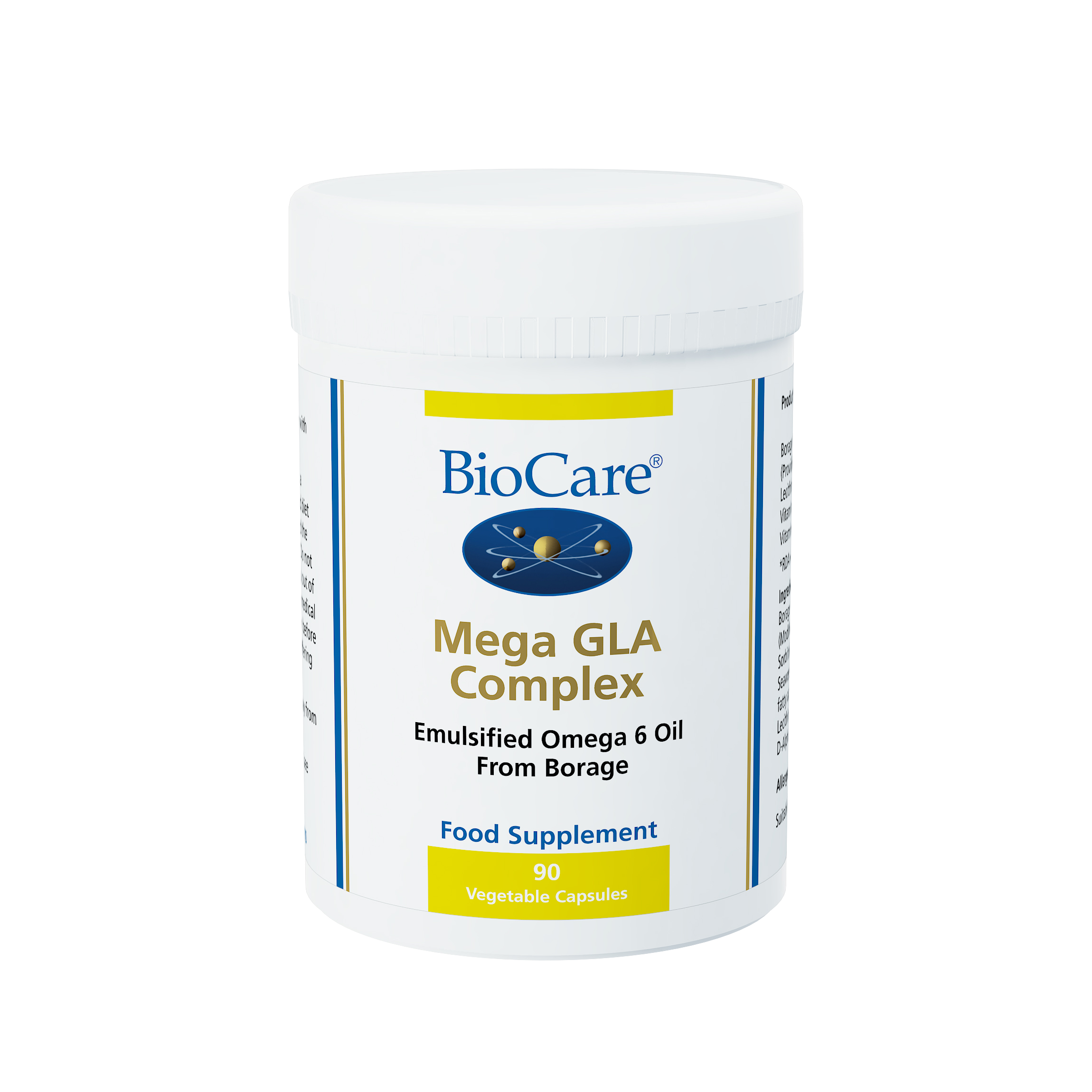 BioCare Mega GLA Complex 90 Vegetable Capsules